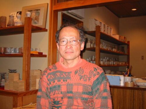 岡田裕 萩 茶碗
