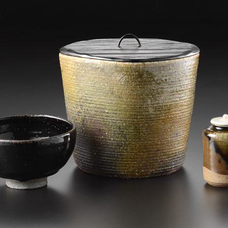 市野信水 丹波 個展 展示会 茶入 茶碗