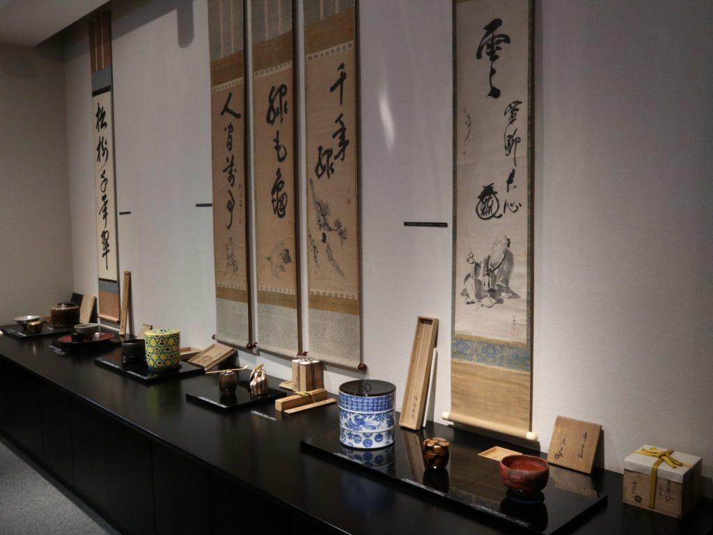古今茶道具名品展 骨董 展示会