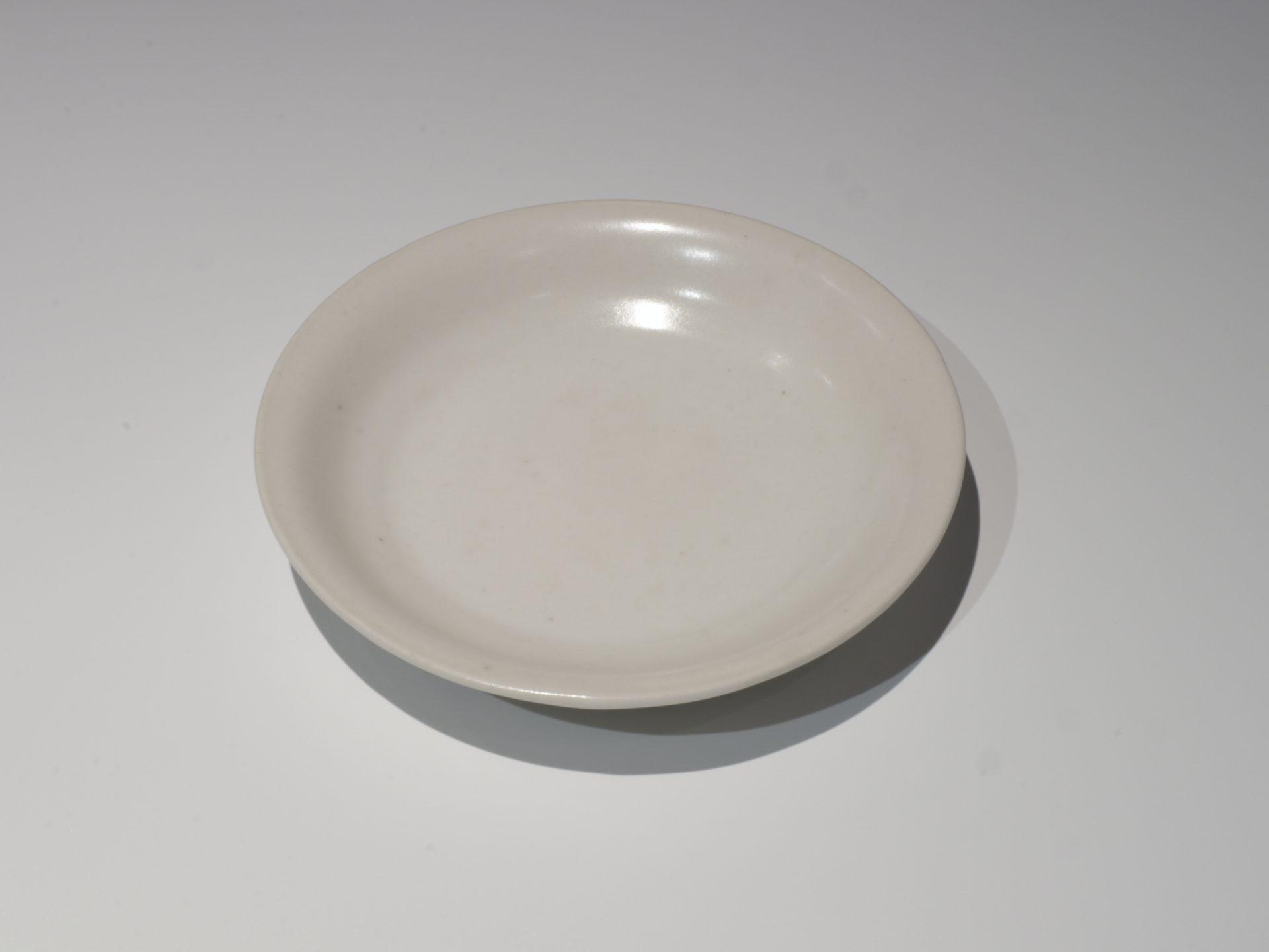 岸野寛 伊賀 白釉 白磁 皿 食器