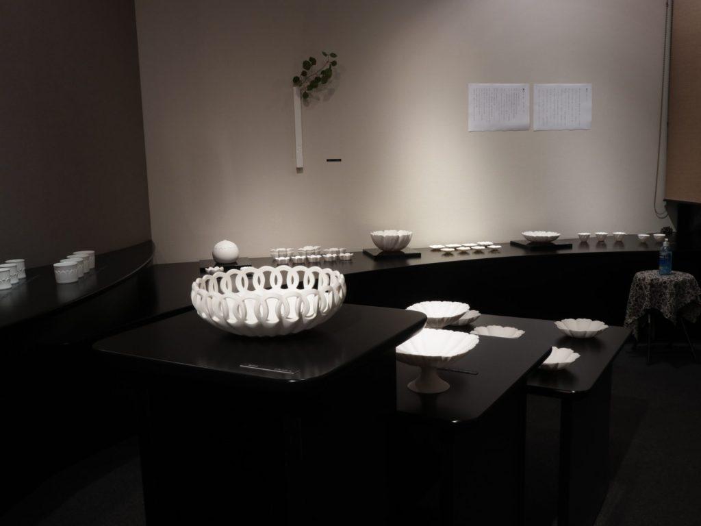 若杉聖子 個展 展示会 白磁